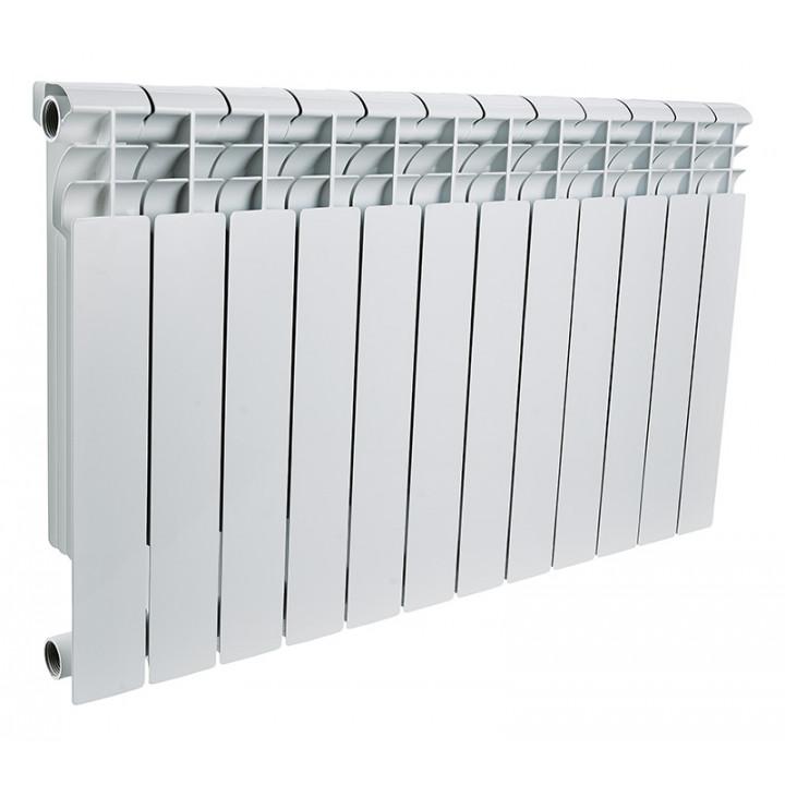 Радиатор отопления алюминиевый 12 секций 500/78 мм LONTEK