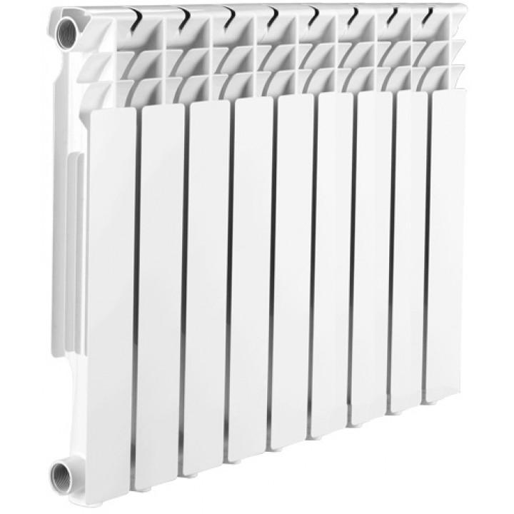 Радиатор отопления алюминиевый 9 секций 500/85 мм Radena