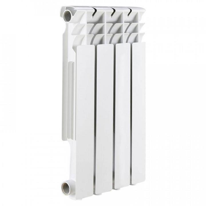 Радиатор отопления алюминиевый 4 секции 500/78 мм LONTEK