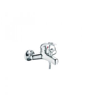 Смеситель для ванны Accoona Н40, А6040 (однорычажный, короткий излив) силумин, хром