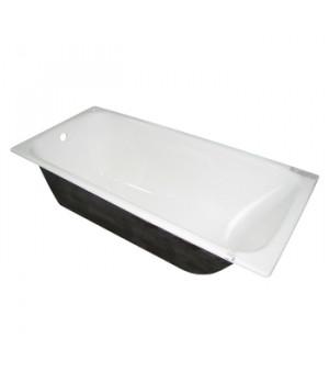 Ванна чугунная Грация белая с ножками 1700х700х400мм Универсал