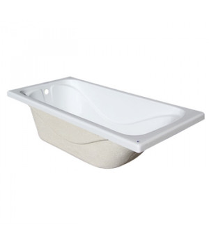 Ванна акриловая Стандарт 1500х700х560мм (без экрана, без ножек) Triton
