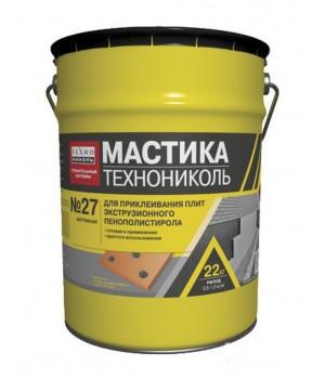 Мастика приклеивающая №27, 22 кг Технониколь