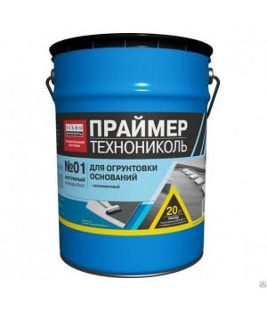 Праймер битумный №01, 20 л концентрат Технониколь