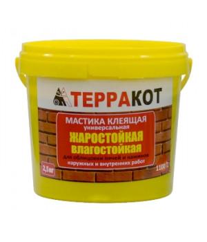 Мастика Терракот, жаростойкая 2,5кг