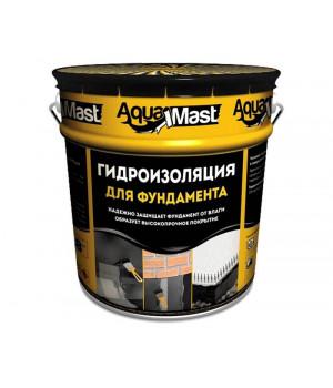 Мастика битумная фундамент 18 кг AquaMast
