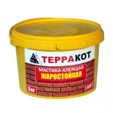 Мастика Терракот, жаростойкая 5 кг
