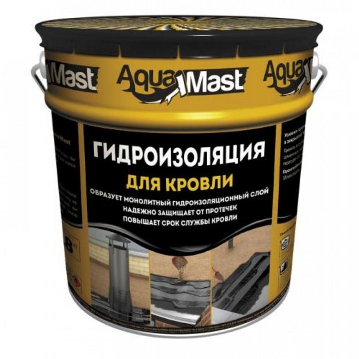 Мастика битумно-резиновая кровля 18 кг AquaMast