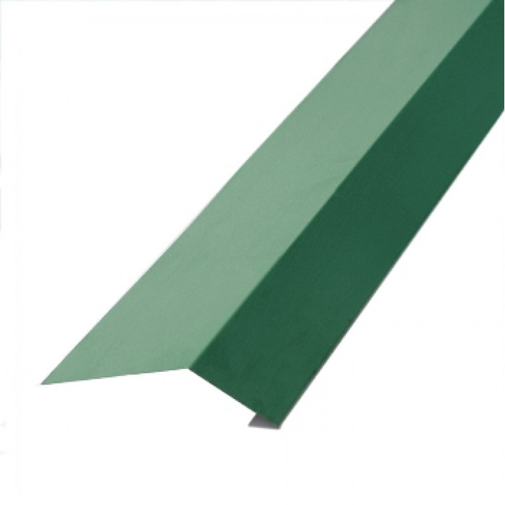 Карнизная планка 2000х100х69 мм зеленый мох (RAL-6005)