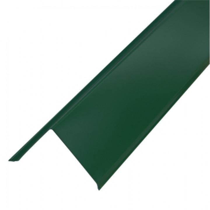 Торцевая планка 95х120х2000 мм зеленый мох (RAL-6005)