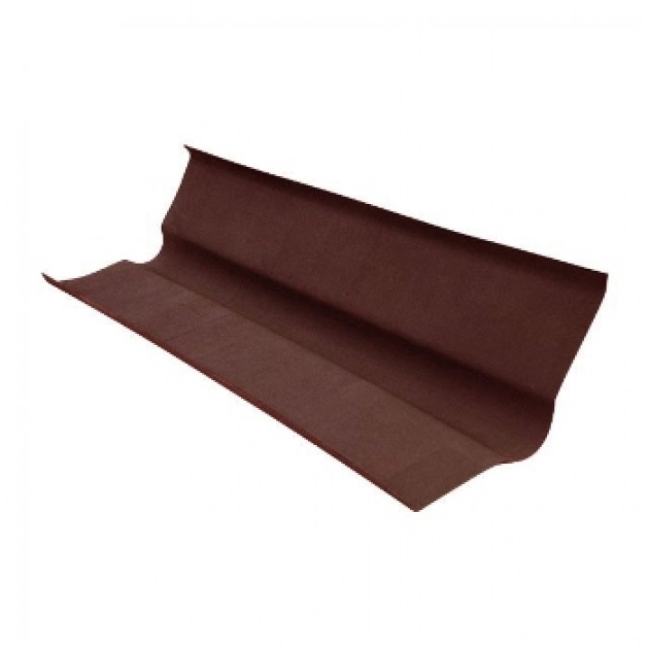 Ендова 1000х360 мм коричневая