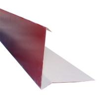 Планка торцевая Shinglas 2 м, красный