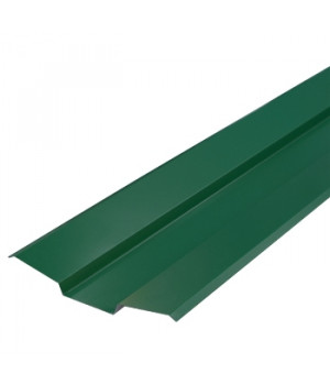 Ендова верхняя 76х76х2000 мм зеленый мох (RAL-6005)