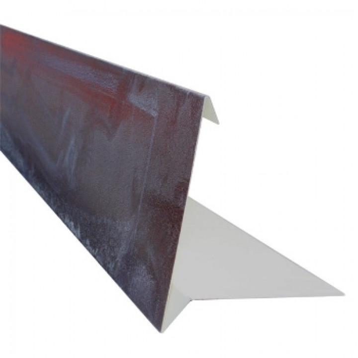 Планка торцевая Шинглас 2 м, коричневый