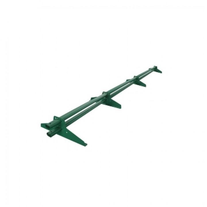 Снегозадержатель трубчатый 3 м зеленый (RAL-6005)
