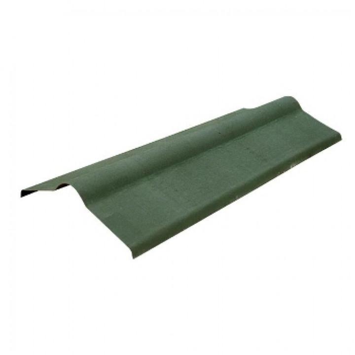 Конек Ондулин 1000х360 мм зеленый