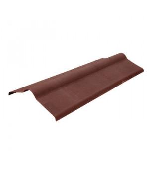 Конек Ондулин 1000х360 мм коричневый