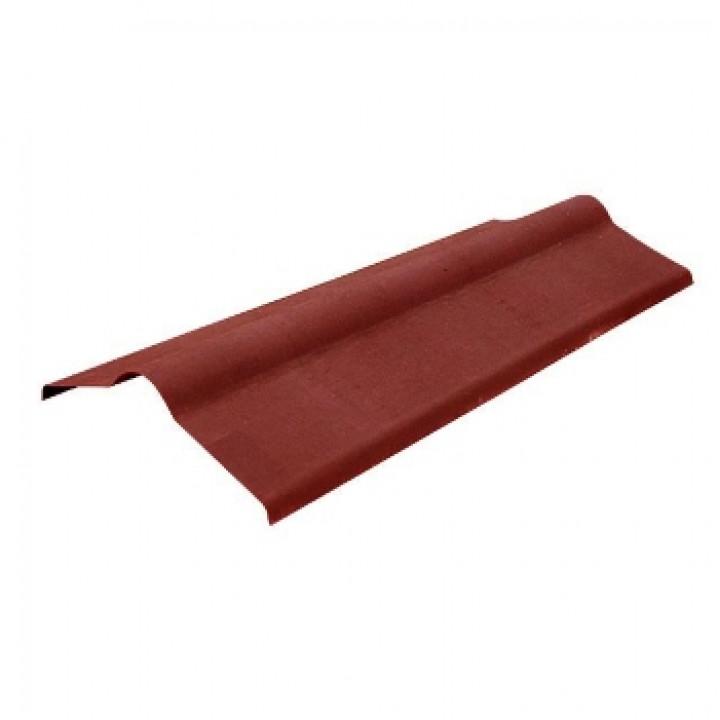 Конек Ондулин 1000х360 мм красный