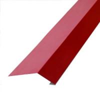 Карнизная планка 2000х100х69 мм красное вино (RAL-3005)