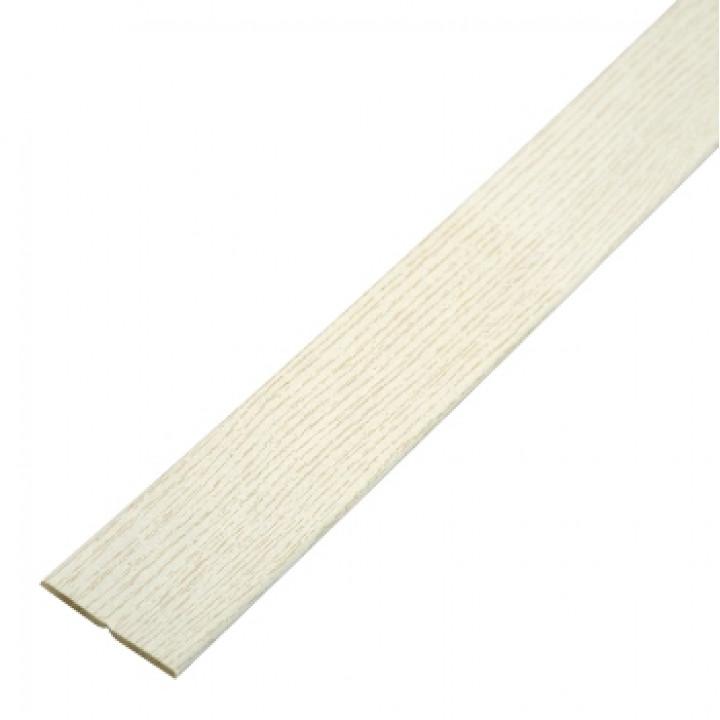 Угол складной МДФ 2600х56х6 мм ясень белый