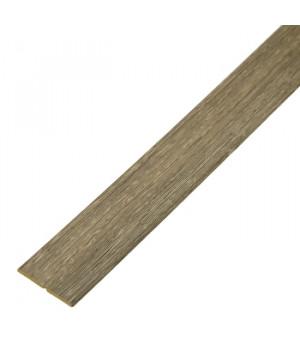 Угол складной МДФ 2600х56х6 мм венги кигали