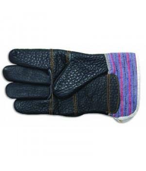 """Перчатки из фурнитурной кожи размер 10,5 """"888"""""""
