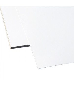 Лист плоский 2000х1250х0,45 мм белый (RAL-9002)