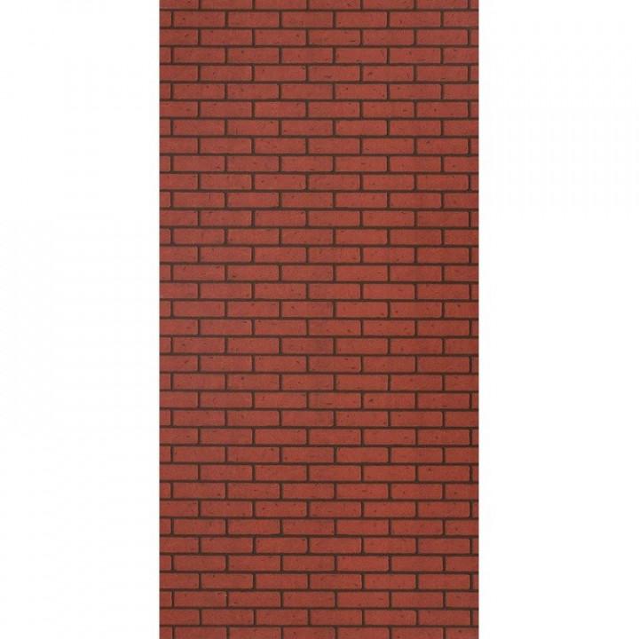 Панель стеновая МДФ 2440х1220х6 мм кирпич красный обоженный