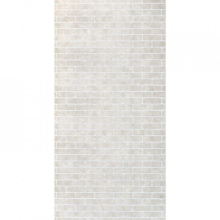 Панель стеновая МДФ 2440х1220х6 мм кирпич белый