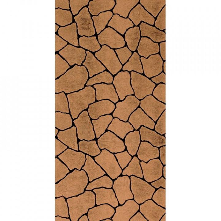 Панель стеновая МДФ 2440х1220х6 мм камень коричневый