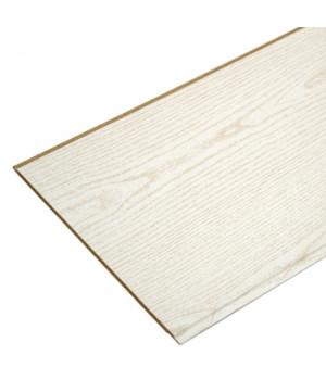 Панель стеновая МДФ 2600х238х6 мм ясень белый