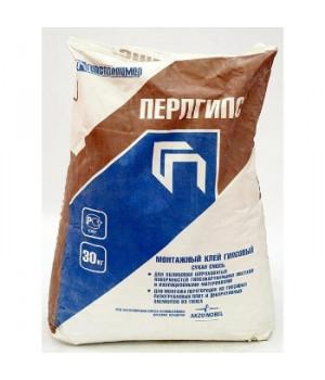 Клей для гипсокартона и пазогребневых плит Перлгипс 30 кг Гипсополимер