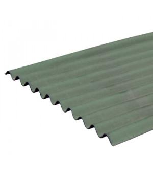 Лист Ондулин SMART 1950х950 мм зеленый