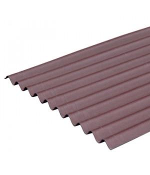 Лист Ондулин SMART 1950х950 мм коричневый