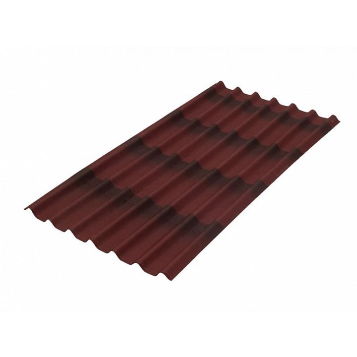 Черепица Ондулин 950х960 мм, красный