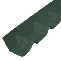 Покрывающий фартук Ондувилла 1020х140 мм зеленый
