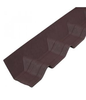 Покрывающий фартук Ондувилла 1020х140 мм коричневый