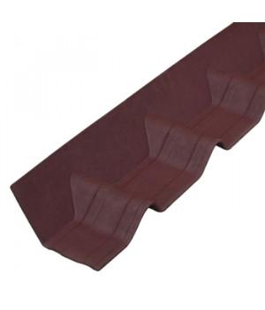 Покрывающий фартук Ондувилла 1020х140 мм красный