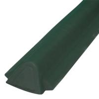 Торцевой конек Ондувилла 1060х175 мм зеленый