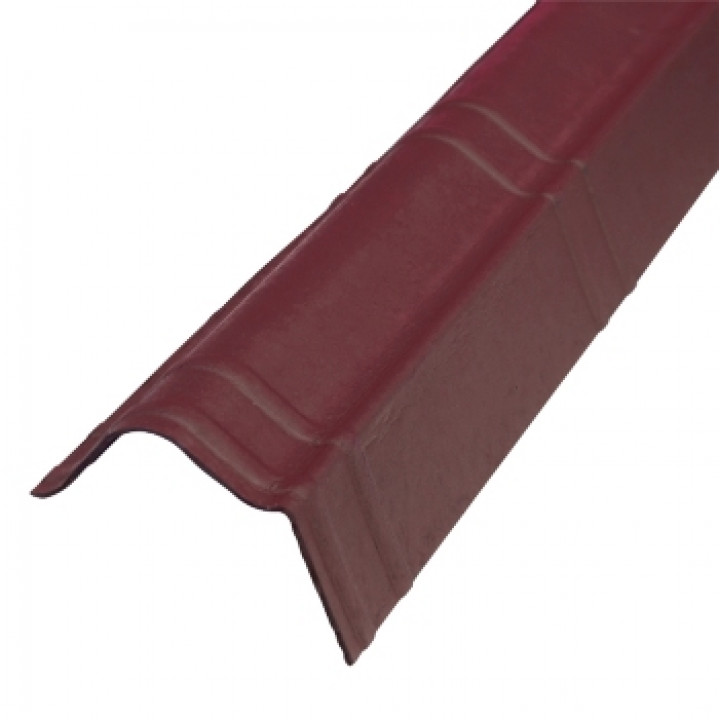 Щипец Ондувилла 1040х105 мм красный