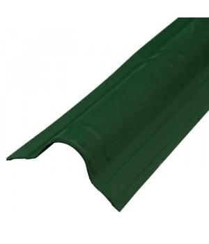 Конек Ондувилла 1060х194 мм зеленый