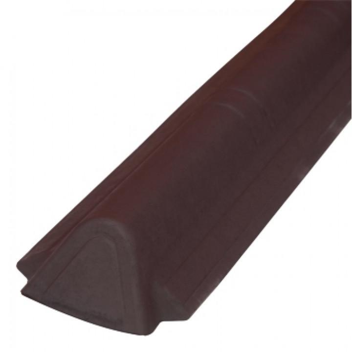 Торцевой конек Ондувилла 1060х175 мм красный