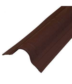 Конек Ондувилла 1060х194 мм коричневый