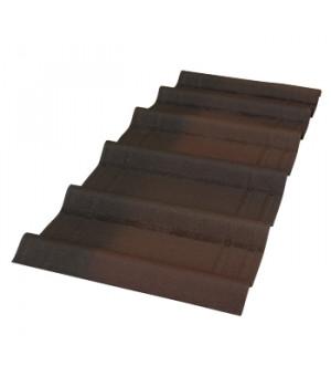 Черепица Ондувилла 3D 1070х400х3 мм коричневый