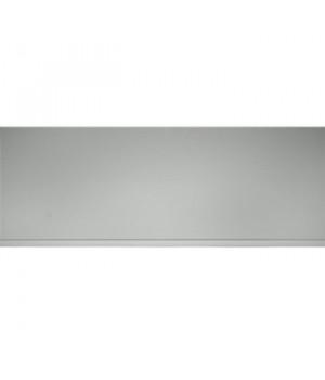 Панель ПВХ, П-25 белая, глянцевая, 2,7м
