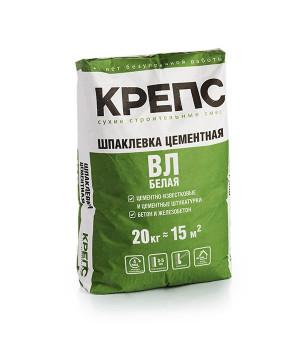 Шпатлевка ВЛ белая Крепс 20 кг