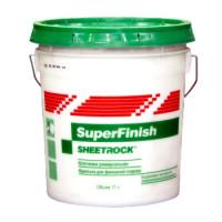 Шпатлевка Super Finish 18 кг DANOGIPS зеленая крышка