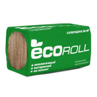 Минераловатная плита ЭКОРОЛЛ Мини (1000х610х50мм)х10