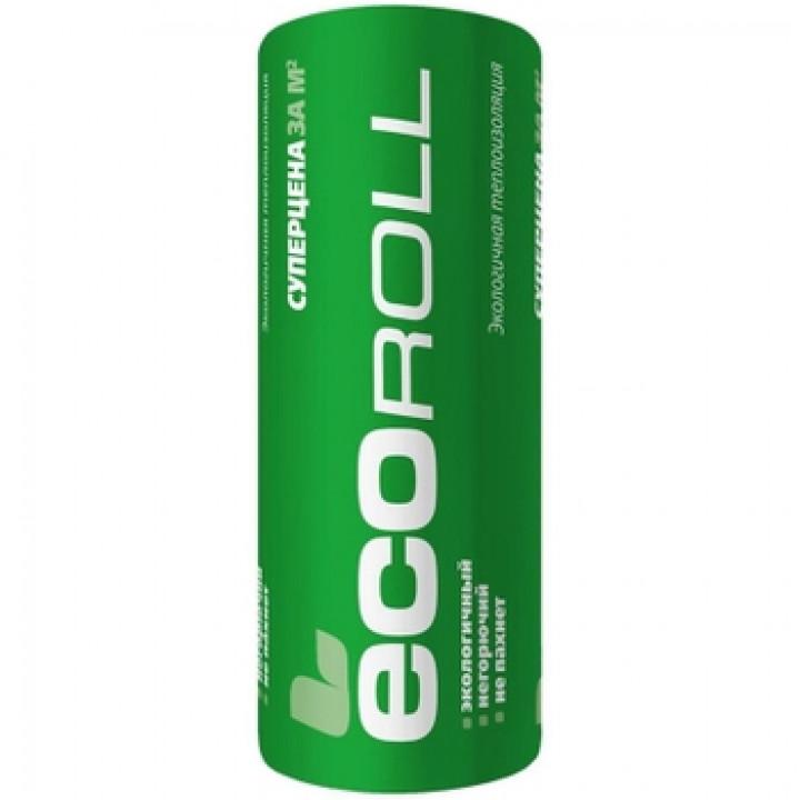 Минераловатная теплоизоляция ЭКОРОЛЛ (6800Х1220Х50мм)х2