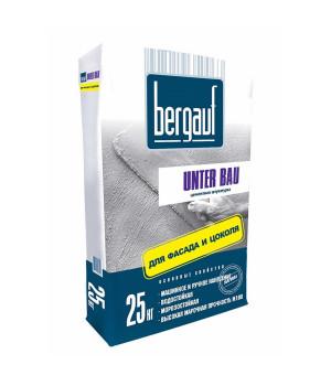 Штукатурка Unter Bau 25 кг Bergauf для фасада и цоколя